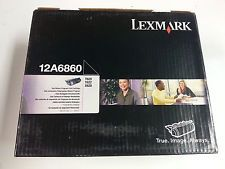 Lexmark 12A6760 12A6860 Genuine Toner Cartridge