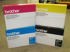 Brother TN01BK Black TN01C Cyan TN01M Magenta TN01Y Yellow TN01 OEM Toner Cartridge - No Retail Box
