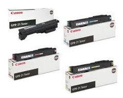 Canon 0262B001AA GPR21BK Black 0261B001AA GPR21C Cyan 0260B001AA GPR21M Magenta 0259B001AA GPR21Y Yellow GPR21 Genuine Toner Cartridge
