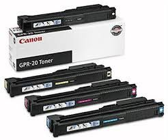 Canon 1069B001AA GPR20BK Black 1068B001AA GPR20C Cyan 1067B001AA GPR20M Magenta 1066B001AA GPR20Y Yellow Genuine Toner Cartridge. Canon 0258B001AA Genuine Drum Unit