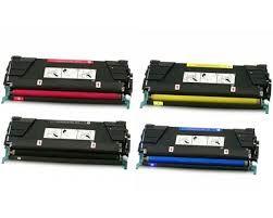 Lexmark 24B5807 Black 24B5804 Cyan 24B5805 Magenta 24B5806 Yellow Compatible Toner Cartridge