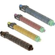 Ricoh Lanier Savin 841849 Black 841852 Cyan 841851 Magenta 841850 Yellow Compatible Toner Cartridge - USA or EU