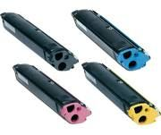 Epson S050100 Black, S050099 Cyan, S050097 Yellow, S050098 Magenta Compatible Toner Cartridge