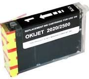 Okidata 52110001 Black 52110002 Cyan 52110003 Magenta 52110004 Yellow Compatible Inkjet Cartridge