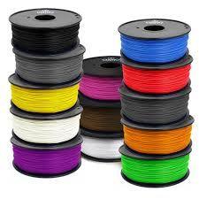 PLA Filament 3mm 3D Printing Filament Type A Spool - Select Colors: