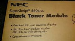 NEC 20-090 Genuine Toner Cartridge. NEC 20-095 Genuine Drum Unit