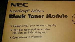 NEC 20-090 Genuine Toner Cartridge. NEC 20-095 Genuine Drum Unit