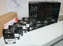Oce 29953720 Black, 29953719 Cyan, 29953721 Magenta, 29953722 Yellow Combipack Genuine Toner and Printhead Cartridge
