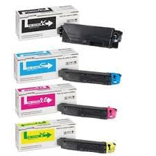 Kyocera Mita 1T02NR0US0 TK5142K Black, 1T02NRCUS0 TK5142C Cyan, 1T02NRBUS0 TK5142M Magenta, 1T02NRAUS0 TK5142Y Yellow TK5142 Genuine Toner Cartridge