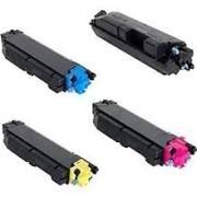 Kyocera Mita 1T02NS0US0 TK5152K Black, 1T02NSCUS0 TK5152C Cyan, 1T02NSBUS0 TK5152M Magenta, 1T02NSAUS0 TK5152Y Yellow TK5152 Compatible Toner Cartridge - USA or EU Version