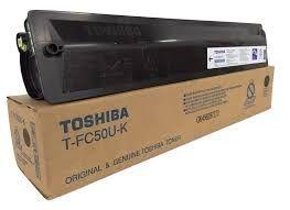 Toshiba T-FC50U-K TFC50UK Black T-FC50U-C TFC50UC Cyan T-FC50U-M TFC50UM Magenta T-FC50U-Y TFC50UY Yellow Genuine Toner Cartridge
