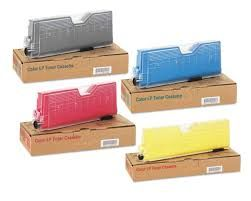 Ricoh Lanier Savin 402552 Black 402553 Cyan 402554 Magenta 402555 Yellow Type 165 Compatible Toner Cartridge