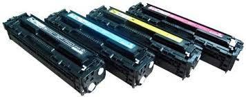 HP CC530A (304A) Black, CC531A Cyan, CC532A Yellow, CC533A Magenta Compatible Toner Cartridge