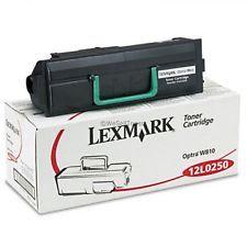 Lexmark 12L0250 Genuine Toner Cartridge
