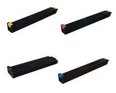 Sharp MX-60NTBA Black MX-60NTCA Cyan MX-60NTMA Magenta MX-60NTYA Yellow Compatible Toner Cartridge