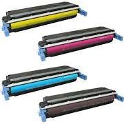 HP C9720A (641A) Black, C9721A Cyan, C9722A Yellow, C9723A Magenta Compatible Toner Cartridge
