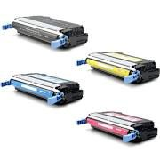 HP Q5950A (643A) Black, Q5951A Cyan, Q5952A Yellow, Q5953A Magenta Compatible Toner Cartridge