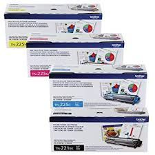 Brother TN221BK Black TN221C Cyan TN221M Magenta TN221Y Yellow Genuine Toner Cartridge. Brother DR221CL BK,C,M,Y (4 pcs) Genuine Drum Unit