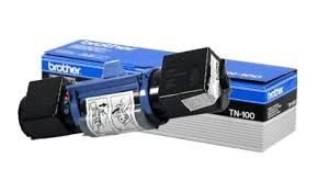 Brother TN100 aka TN100PF, TN100HL Genuine Fax Toner Cartridge. Brother DR100 Genuine Drum Unit