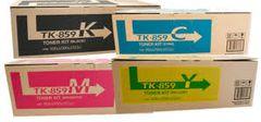 Copystar 1T02H7OCSO TK859K Black 1T02H7ACSO TK859C Cyan 1T02H7BCSO TK859M Magenta 1T02H7CCSO TK859Y Yellow TK859 Genuine Toner Cartridge