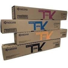 Kyocera 1T02P3CUS0 TK8117K Black, 1T02P30US0 TK8117C Cyan, 1T02P3BUS0 TK8117M Magenta, 1T02P3AUS0 TK8117Y Yellow Genuine Toner Cartridge