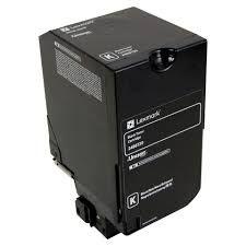 Lexmark 24B6720 Black 24B6717 Cyan 24B6718 Magenta 24B6719 Yellow Genunie Toner Cartridge