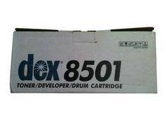 Fujitsu Dex 8501 Genuine Toner Developer Drum Cartridge.