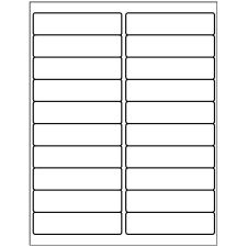 "Avery 5161, 1"" x 4"" Compatible Alternative Easy Peel Address labels, 20 Labels Per Sheet. 100 Sheets Per Pack. 2000 Labels"