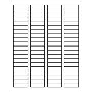 "Avery 5167, 0.5"" x 1.75"" Compatible Return Address labels, 80 Labels Per Sheet. 100 Sheets Per Pack. 8000 Labels"