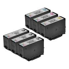 Epson 302XL T302xl020 Black T302xl120 Photo Black T302xl220 Cyan T302xl320 Magenta T302xl420 Yellow T302XL-BCS Combo (5 Packs-Bk,PBk,C.M,Y) Compatible Inkjet Cartridge