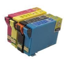 Epson 212XL T212xl120 Black T212xl220 Cyan T212xl320 Magenta T212xl420 Yellow T212XL-BCS BK,C,M&Y Compatible Inkjet Cartridge