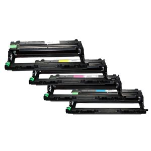 Brother DR221BK Black DR221C Cyan DR221M Magenta DR221Y Yellow Compatible Drum Cartridge
