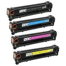 Canon 131 6273B001AA Black, 6271B001AA Cyan, 6270B001AA Magenta, 6269B001AA Yellow, 131X 6272B001AA Black Compatible Laser Toner Cartridge