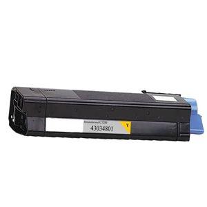 Okidata 43034801 Yellow Compatible Toner Cartridge