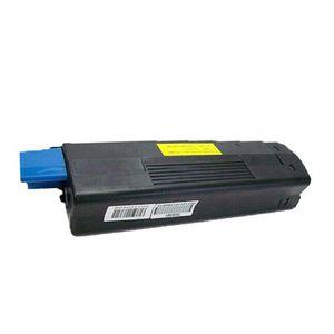Okidata 42127401 Yellow Compatible Toner Cartridge