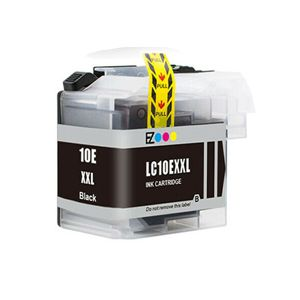 Brother LC10EBK XXL Black Compatible Inkjet Cartridge
