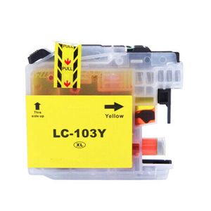 Brother LC103 Y XL Yellow Compatible Inkjet Cartridge
