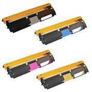 Konica Minolta 1710587-004 Black, 1710587-007, 1710587-003 Cyan, 1710587-006, 1710587-002 Magenta, 1710587-005, 1710587-001 Yellow Compatible Toner Cartridge. Konica Minolta 1710591-001 Compatible Drum Unit