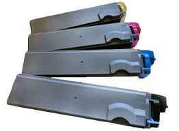 Kyocera Mita 0T2F30US, 1T02F30OUS0, TK512K Black, 0T2F3CUS, 1T02F3CUS0, TK512C Cyan, 0T2F3BUS, 1T02F3CUS0, TK512M Magenta, 0T2F3AUS, 1T02F3AUS0, TK512Y Yellow TK512 Compatible Toner Cartridge