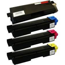 Kyocera Mita 1T02KV0US0 TK592K Black, 1T02KVCUS0 TK592C Cyan, 1T02KVBUS0 TK592M Magenta, 1T02KVAUS0 TK592Y Yellow TK592 Compatible Toner Cartridge