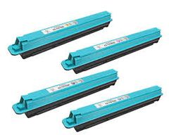 Panasonic KX-FATK509 Black, KX-FATC506 Cyan, KX-FATM507 Magenta, KX-FATY508 Yellow Compatible Toner Cartridge