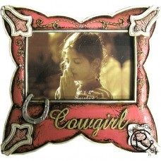 Cowgirl Photo Frame 4x6
