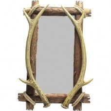 Square Antler Mirror