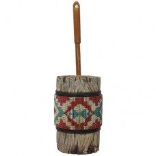 Aztec Toliet Brush Holder