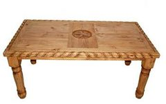 6' Rope Table w/ Star on Top