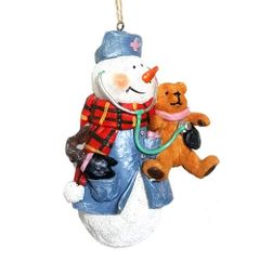 Nurse Snowman Ornament