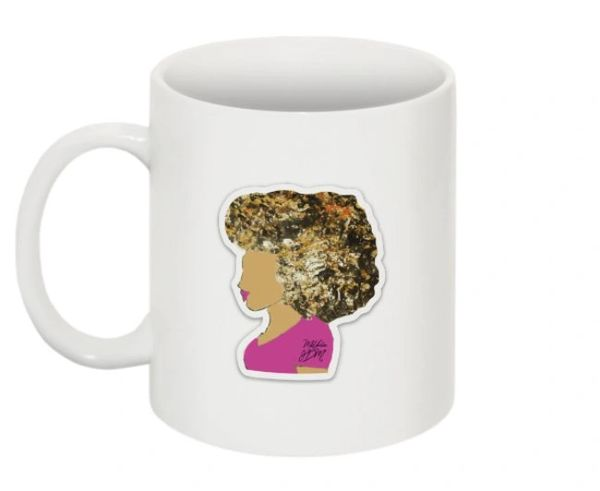 MUG: BIG HAIR DON'T CARE ART MUG LIMITED EDITION