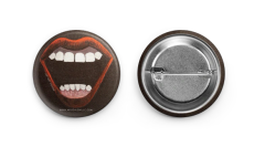 Scream Queen Button Pair by MiVida JDM Art