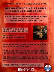 DECONSTRUCTING TRAUMA SESSIONS AND WORKSHOP