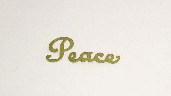 Peace – Script Medium